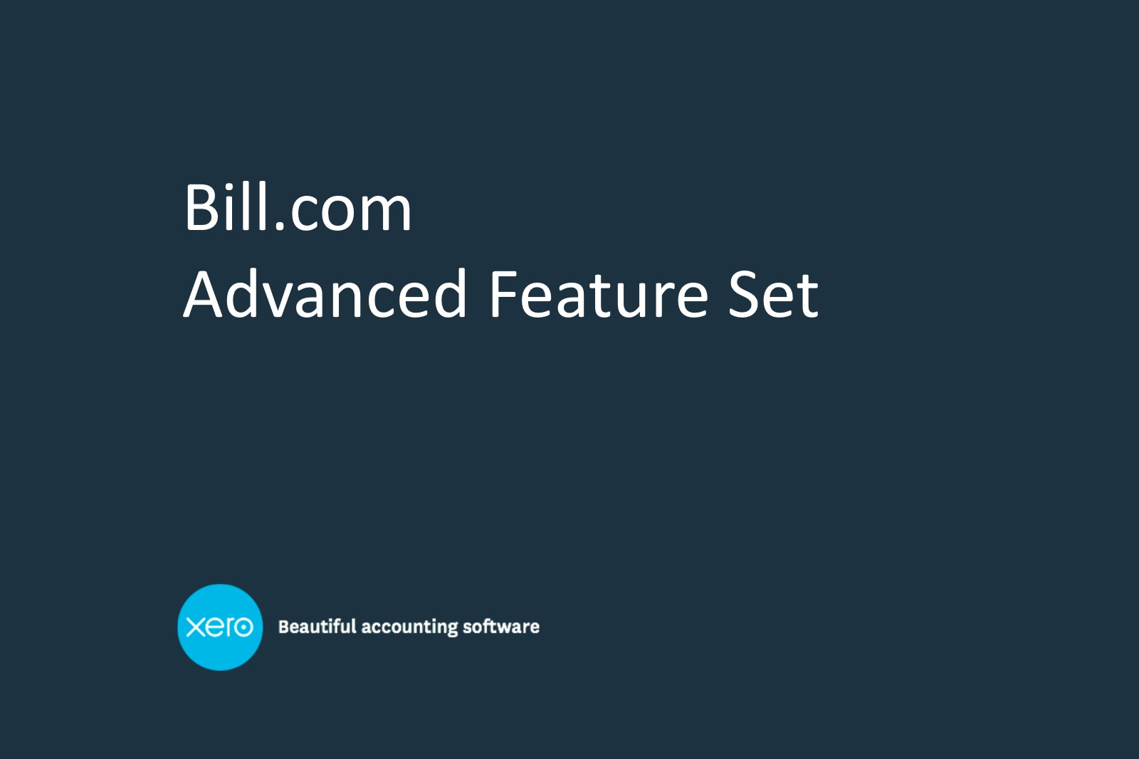xero-billcom-features